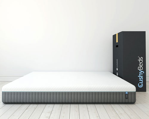 CushyBeds-4-Layer-Latex-Memory-Foam-Mattress-Built-with-Premium-Materials,-Queen