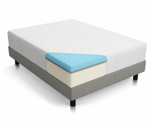 LUCID-12-Inch-Gel-Memory-Foam-Mattress---Queen