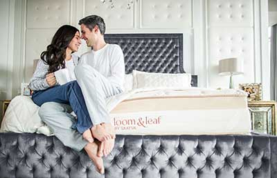 Loom-&-Leaf-Mattress---couple-sitting