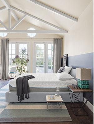 Tempurpedic-mattress-in-bedroom